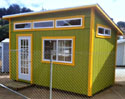 Wooden Storage Sheds