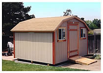 Wood Storage Sheds